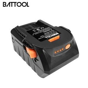 Аккумулятор BATTOOL серии AEG L30, литий-ионный аккумулятор 4000 мАч 18 в для RIDGID R840083 R840085 R840086 R840087
