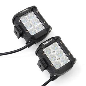 Image 3 - LED Work Light Bars 36w 18w Tractor Fog Offroad Hight Spot Flood Wide Beam Working headlight lamp 12V 24V For Auto Car ATV