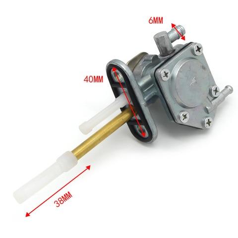 combustivel de gas petcock torneira valvula interruptor