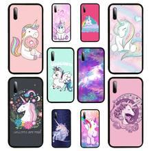 Rainbow Lovely Unicorn Phone Case For SamsungA 51 6 71 8 9 10 20 40 50 70 20s 30 10 plus 2018 Cover Fundas Coque