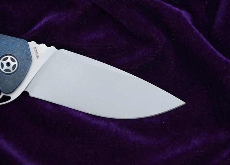 CH3504 originaalne disain Flipperi kokkuklapitav nuga S35VN Tera - Käsitööriistad - Foto 3