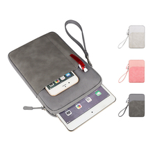 Digital Accessories Storage Bag Mobile Phone Tablet Organizer Case Portable Mini Liner Pouch Zipper Waterproof Travel Tote Small