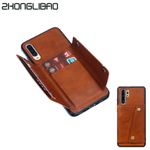 Card Holder Wallet Case for Huawei P30 M
