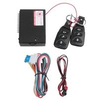 Sistema de alarma de coche Universal Kit de Control remoto Central automático cerradura de puerta sistema de entrada sin llave bloqueo Central con Control remoto