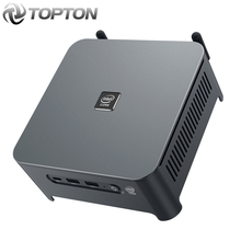 Topton novo mini pc windows 10 intel i9 10880h 8 núcleo 16 threads 2 * ddr4 2 * m.2 nvme 2 * lan barebone pc dp hdmi htpc nuc 4k computador