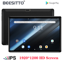 BEESITTO Original Android Tablets MT6762 Octa Core 32/64GB ROM 5G Wifi Android 9.0 PAD 1920*1200 IPS Type C USB 10 inch Tablets