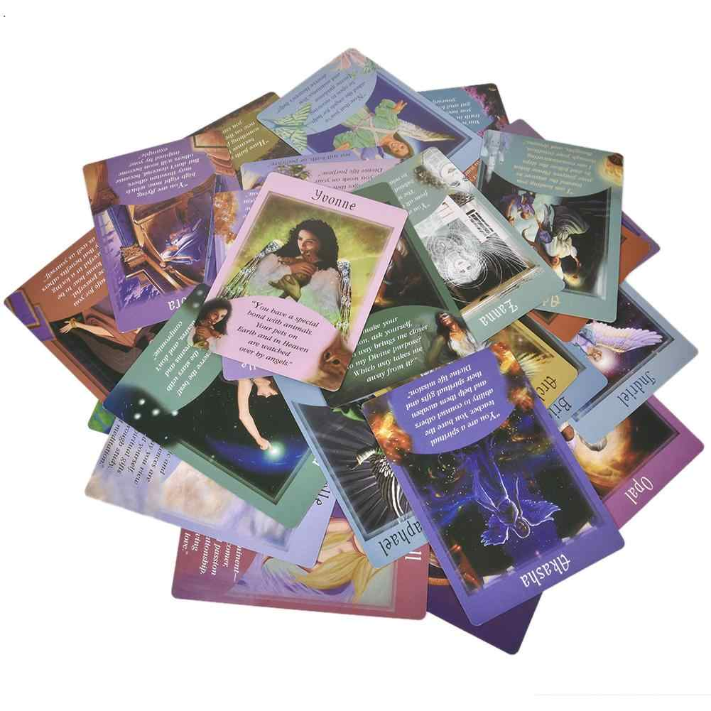 Oracle Tarot Cards 44PCS Messages From Your Angels Table Game Card For Family Happy Party Entertainment Desk Playing Game Cards