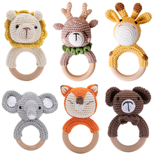 Let #8217 s Make 1Pc Baby Rattle Toys Wooden Teether Crochet Pattern Rattle Lion BearToy Newborn Gift Baby Teether Crochet Custom Name cheap let s make 0-6m 7-12m 13-24m CN(Origin) Unisex pyc01 Animal Separates Musical Keep away fire cloud Wholesale Dropshipping