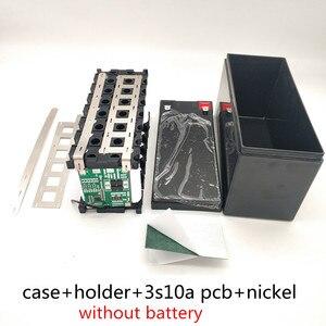 Image 5 - 12V7Ah 8Ah10Ah12Ah استبدال الرصاص الحمضية لحقيبة بطارية ليثيوم رذاذ كهربائي خاص البلاستيك 18650 صندوق تخزين أخضر أسود