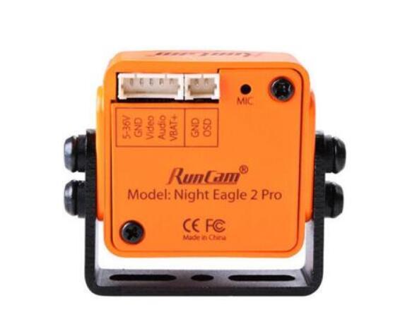 Nuovo Runcam Notte Aquila 2 Pro 1/1. 8 Cmos 2.5 Millimetri 800TVL 0.00001 Lux 4:3 Fpv Macchina Fotografica W/Integrato Osd Mic per Drone - 2