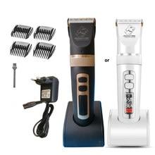 Baorun P9 Dog Hair Trimmer Electrical Pet Professional Grooming Machine Rechargeable Shaver Hair Cutter Cat Dog Haircut clipper
