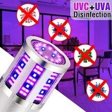 E27 Indoor Lighting Led Corn Lamp UV Germicidal Led 220V UVC Sterilizer Light 110V Led Ultraviolet Bactericidal Lampa 260-280nm