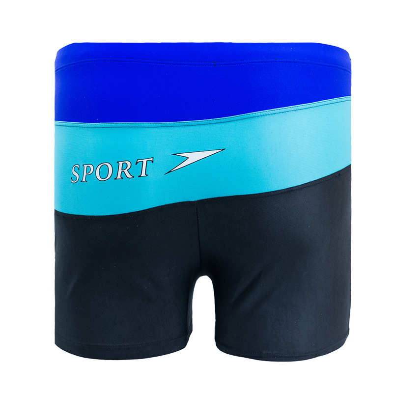 MEN'S Swimming Trunks New Style Mixed Colors Men's Swimming Shorts Offset Printing Large Size MEN'S Swimming Trunks