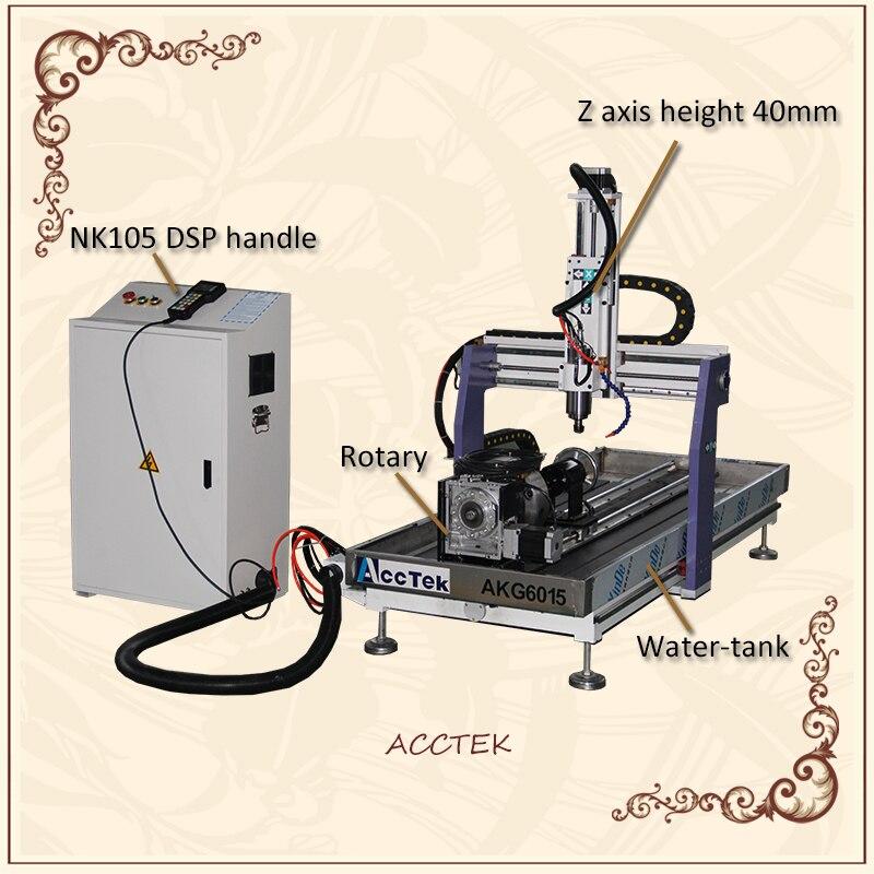 China 3 As Mini 6040 2.2Kw Cnc Frezen 4 Assige Machine Voor Koper Aluminium Staal Gebogen Graveren Goede Prijs|Hout Router|   - AliExpress