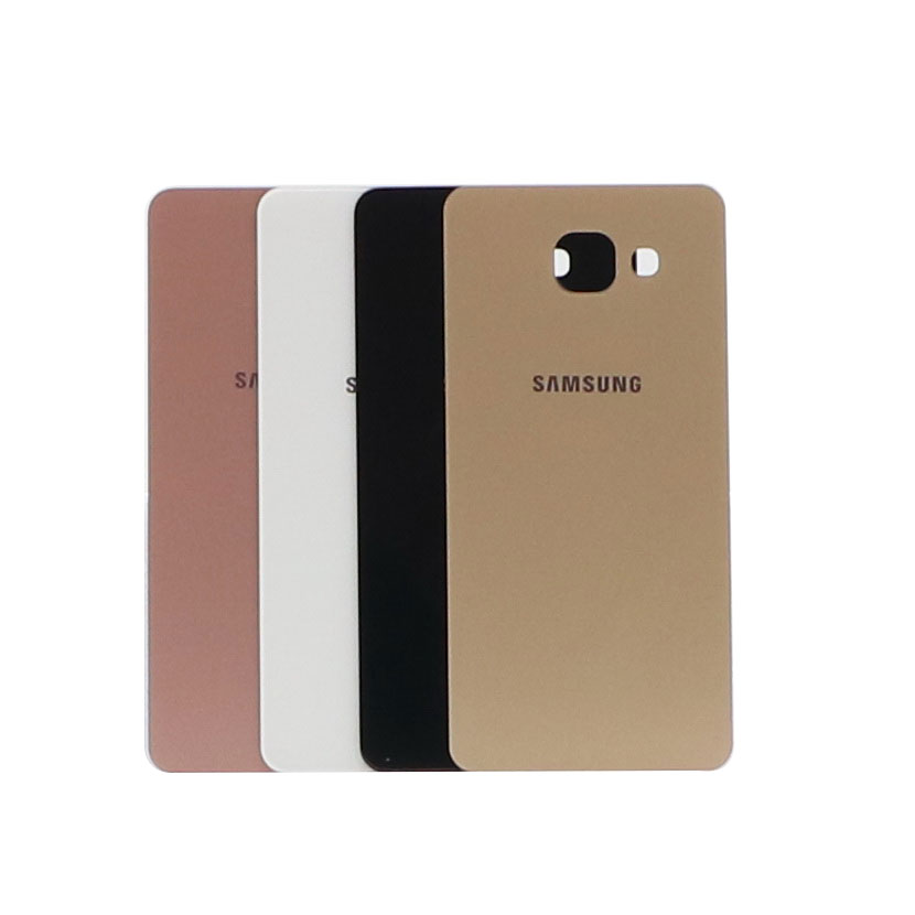 For <font><b>Samsung</b></font> Galaxy A5 2016 <font><b>A510F</b></font> A510M A510FD A5100 A510Y Back Battery Case Glass Housing Cover A510 Back Door Replacement image