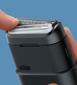 Image 3 - Xiaomi Mijia Braun Electric Razor 2 Blade Shaver USB Rechargeable Smart Mini Wet Shaving Washable Beard Trimmer Mens Travel