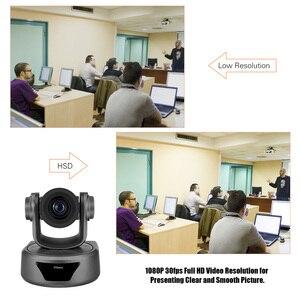 Image 5 - Aibecy كاميرا فيديو للمؤتمرات 3X اختياري التكبير كاميرا ويب كامل HD 1080P دعم 95 درجة مشاهدة واسعة السيارات USB التحكم عن بعد