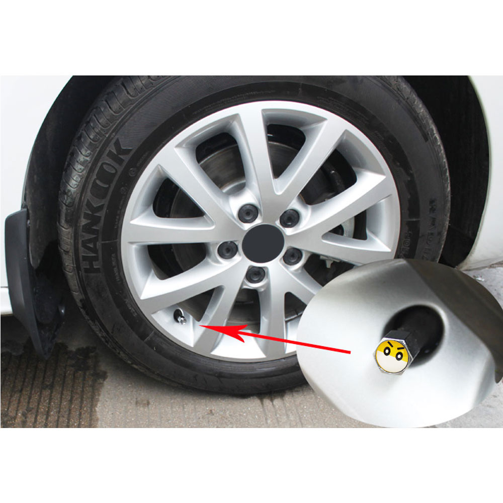 5pcs Material Cars Air Valve Caps Wheel Rim Tyre Stem Dust Cover Dustproof Cap