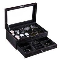Double Layer Watch Storage Box Jewelry Glasses Display Box Jewelry Storage Box Watch Storage Box