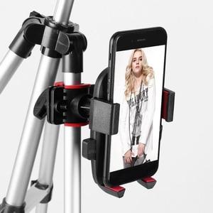 Image 3 - Suporte ajustável de led para câmera, suporte ajustável de 5.7 polegadas com anel luminoso para telefone de 35 100cm para filmagem de vídeo