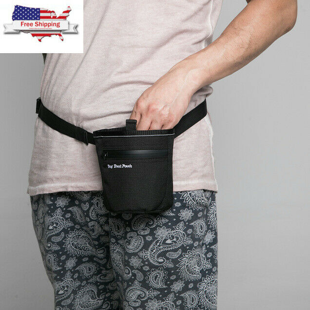 Waist Bag Hot Pet Dog Puppy Training Treat Snack Bait Pet Feed Pocket Pouch Obedience Agility Pouch Food Bag Pocket Snack Reward