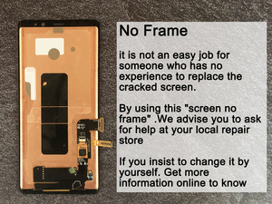 """Image 3 - 6.3"""" Original AMOLED Display For SAMSUNG Galaxy NOTE 8 LCD N950 N950F N950N Display For Note8 Touch Screen Replacement Parts"""