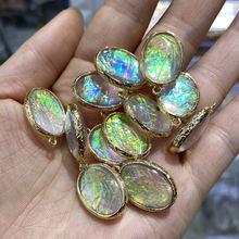 5 шт кулон из натурального камня для изготовления ювелирных
