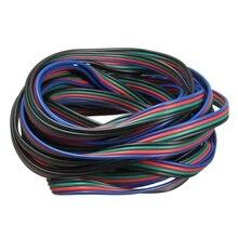 4 Pin удлинитель провода Соединительный шнур для светодиодной ленты RGB 3528 5050 разъем Красочные 5 м/10 м/20 м/50 м
