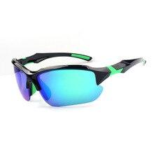 Sports Sunglasses for Men Windproof UV400 outdoor Running Driving Fishing Golf B