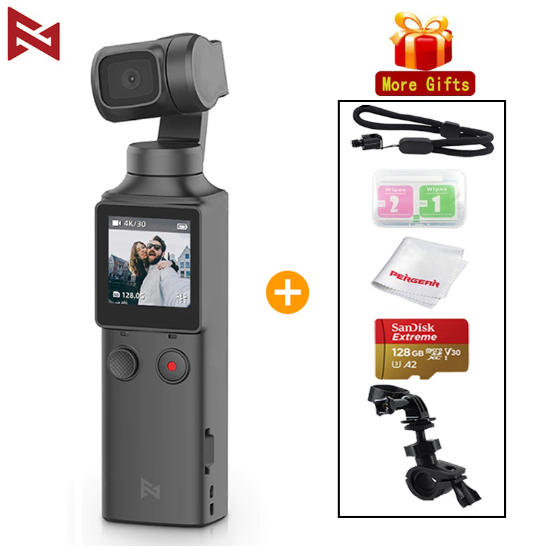 Wholesale FIMI PALM 4K HD 3-Axis Handheld Gimbal Stabilizer 128     Wide Angle Wi-Fi Control Stand Bracket Expansion Accessories