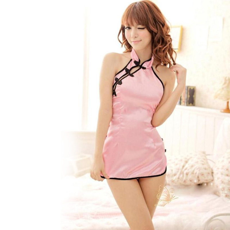Hot Sexy Babydoll Porn Products <font><b>Chinese</b></font> Cheongsam Uniforms Cosplay Costumes Monopoly <font><b>Sex</b></font> Cosplay Sexy Lingerie Exotic Apparel image