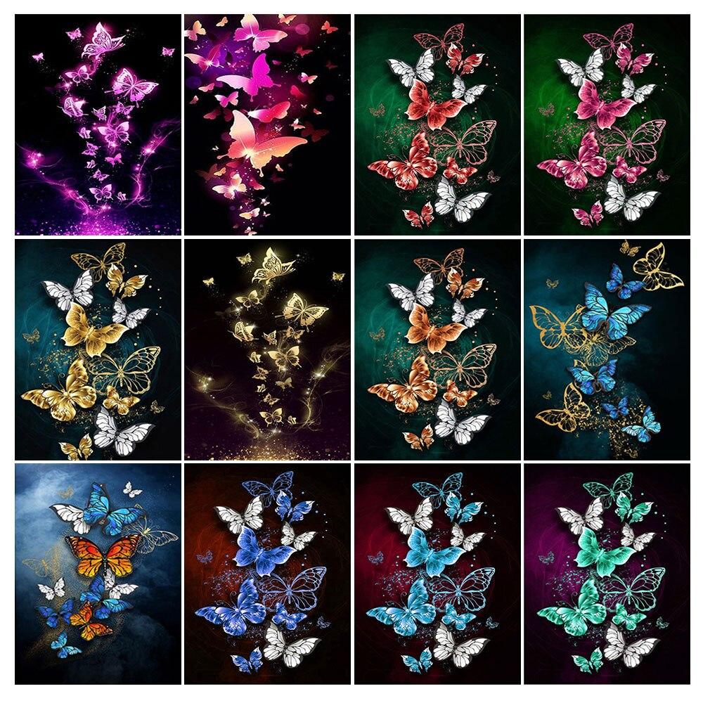 New 5D Abstract Animal Home Art Diamond Painting Full SquareRound Diamond Cross Stitch Rhinestone Christmas Decoration Gift