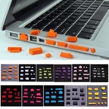 Универсальный эластичный силикон защита от пыли ноутбук порт протектор пылезащитный ноутбук компьютер порт заглушка защита от пыли заглушка крышка