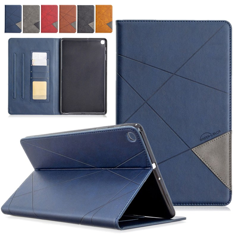 Luxury Leather For Samsung Galaxy Tab A 10 1 2019 T510 Case Magnetic Protective Case Cover For Samsung Tab A 2019 T515 SM-T515