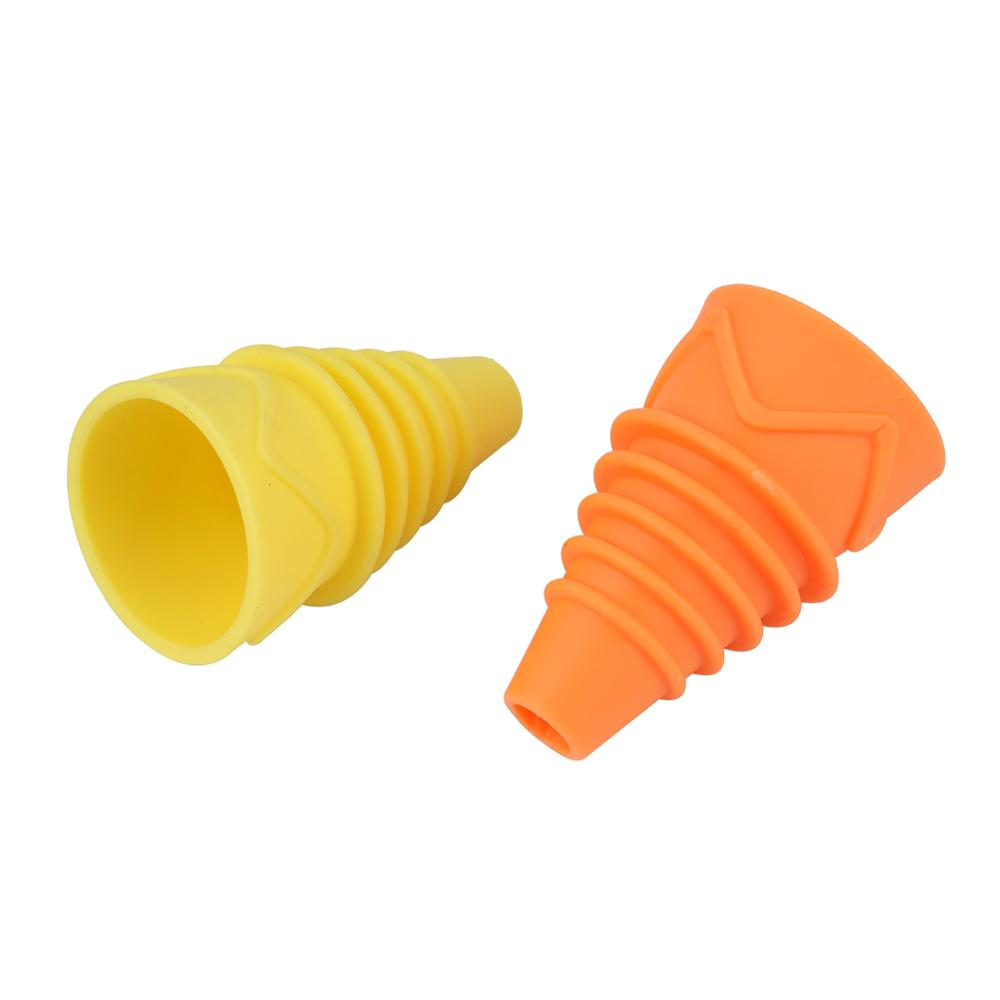 Flexible Flies Trap Funnel Reusable Silicone Fruit Fly Trap Pest Control Catcher Killer Practical Insects Trapping Funnel 1Pc
