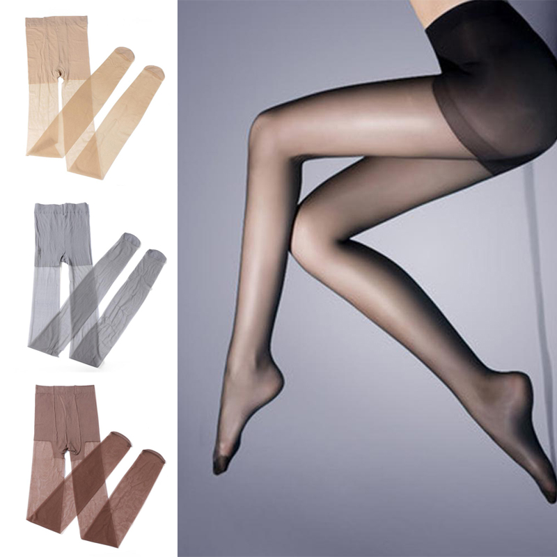 2020 Women Lady Solid Ultra-thin Elastic Stretchy Pantyhose Long Stockings Tights
