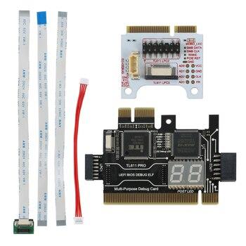 Многофункциональная материнская плата PCI PCI-E LPC, диагностический тест на материнскую плату, диагностический тестовый набор для LPC-Delight