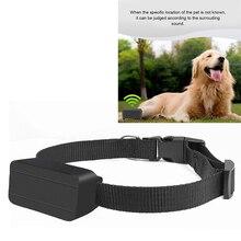 Trackers Locator Pet Dogs Mini Gps 24-Hour-Monitoring Anti-Lost-Recording Voice