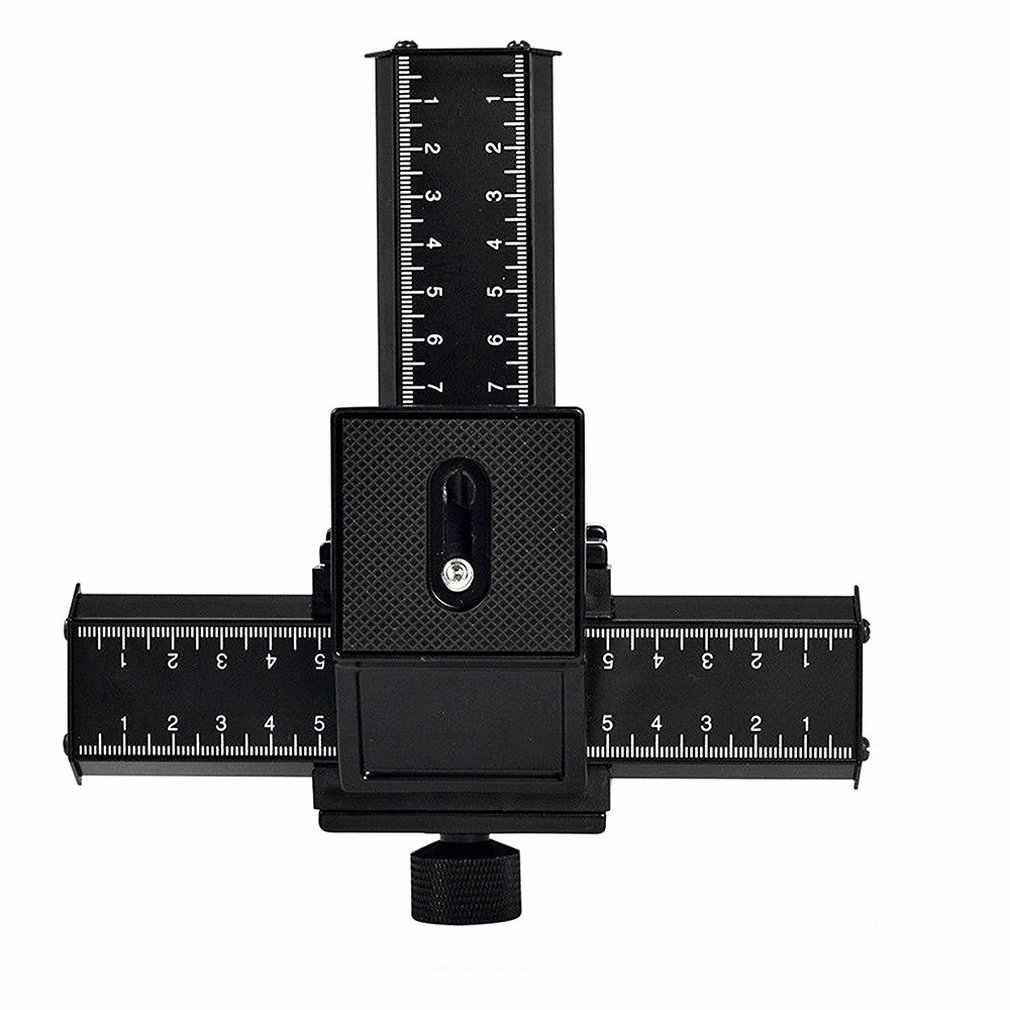 4-Way Makro Fokus Fokus Rail Slider/Close-Up Menembak untuk Digital SLR Kamera DC dengan Standar 1/4 inci Lubang Sekrup