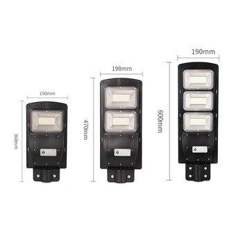 20-40 Вт светодиодный настенный светильник IP65 Солнечный уличный светильник с радиолокационным движением 2 в 1 постоянно яркий и индукционный ...