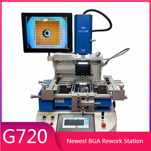 BGA G720 עיבוד חוזר תחנת מכונה חצי אוטומטי יישור מערכת Reballing הלחמה תחנת עבור מחשבים ניידים משחק קונסולות נייד תיקון