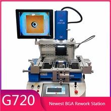 Estación de reparación BGA G720, sistema de alineación semiautomática, estación de soldadura de Reballing para portátiles, consolas de juegos, reparación de móviles