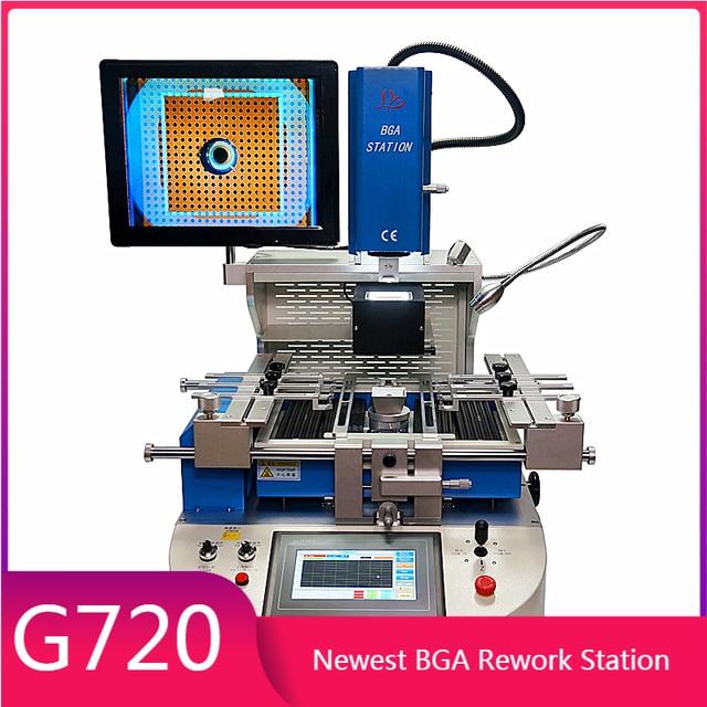 بغا G720 إعادة العمل آلة محطة شبه التلقائي محاذاة نظام rebيعادل محطة لحام لأجهزة الكمبيوتر المحمولة وحدات التحكم بالألعاب إصلاح المحمول