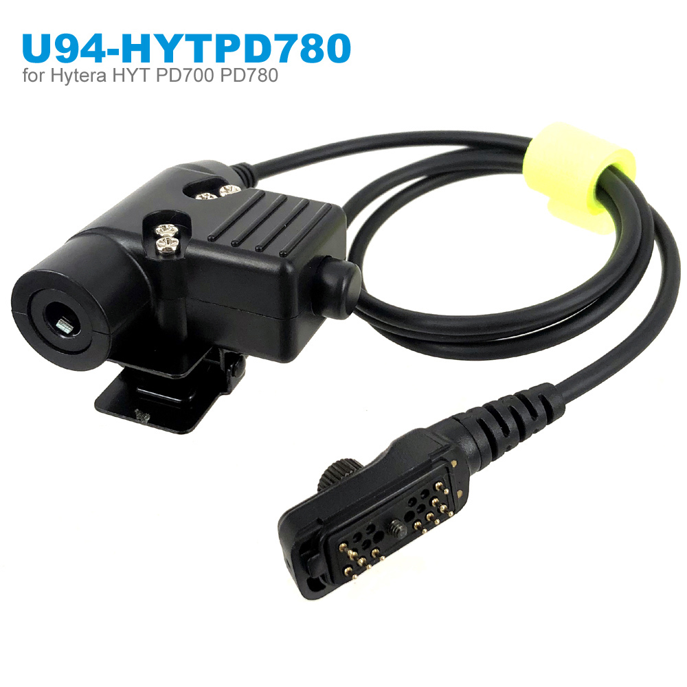 New Airsoft Tactical Headset U94 PTT For Hytera HYT PD702 PD700 PD700G PD780 PD780G PD780GM Radio Walkie Talkie