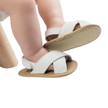0-12M PU w kratkę dziecięce sandały chłopięce dziecięce sandały dziecięce dziecięce sandały chłopięce buty dziecięce plażowe letnie obuwie tanie i dobre opinie CN (pochodzenie) Mieszkanie z Korka Lato Pasuje prawda na wymiar weź swój normalny rozmiar Baby boy