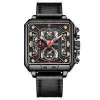 Hobbylane break 5645 moda à prova dwaterproof água relógio de pulso de quartzo corrida dos homens estudantes cronógrafo brilho relógio|Relógios de quartzo| |  -