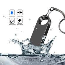 Ручка диск водонепроницаемый металл Type-C Usb Flash Drive USB 2.0 Flash Disk Cle Usb Stick 4G 8G 16G 32G 64GB 128g 256g 512GB Pendrive