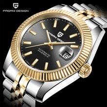 Men Watch Top Luxury Brand PAGANI DESIGN Men Mechanical