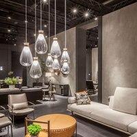 Modern Pendant Lights Glass G4 Pendant Lamps Living Room Nordic Minimalist Stylish Hanging Light Dining Table Restaurant Cafe