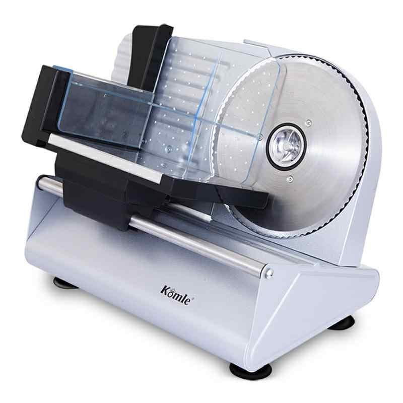 200W Elektrische Slicer Fleisch Slicer Haushalts Desktop Lamm Scheibe Gemüse Brot Heißer Topf Schinken Fleisch Maschine Einstellbare dicke